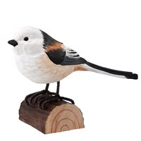 Long-Tailed Tit Wood Carving
