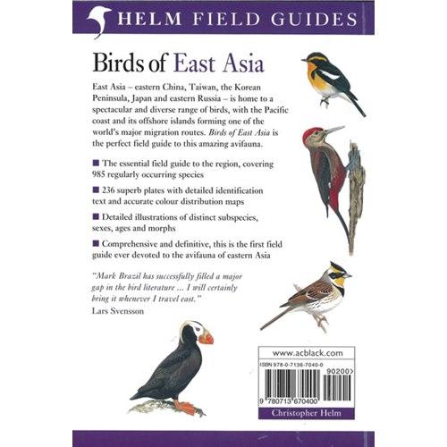 Birds of East Asia  China, Taiwan, Korea, Japan, Russia (Brazil)