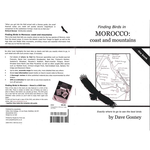 Finding Birds in Morocco: coast and mountains (Gosney)