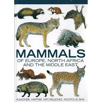 Mammals of Europe, North Africa & the Middle East (Aulagnier