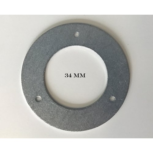 Nestbox Plate Metal 34 mm
