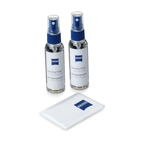 Zeiss Lens Cleaning Fluid 2x30 ml incl. Microfiber Cloth