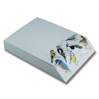 Notepad with Birds