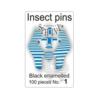 Insect Pins Black No 1