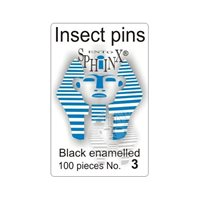 Insect Pins Black No 3