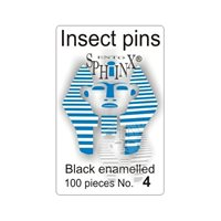 Insect Pins Black No 4