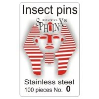 Insect Pins Steel No 0