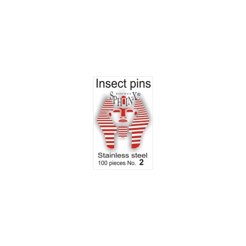 Insect Pins Steel No 2