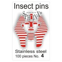 Insect Pins Steel No 4